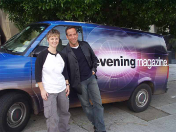 Pooch Coach - Beverly Ulbrich Evening Magazine with Mike Rowe (2005)