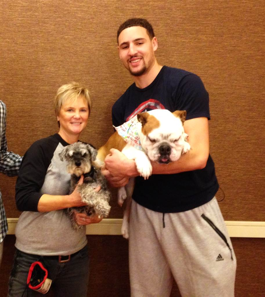 Klay Thompson and dog trainer Beverly Ulbrich, The Pooch Coach