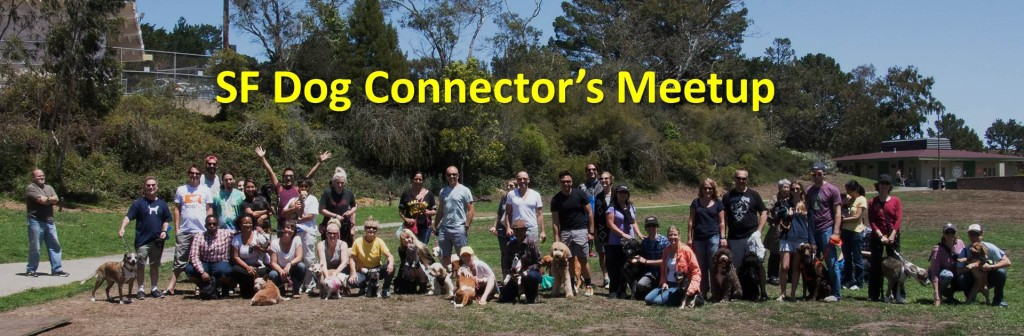 SF Dog Connector's Meetup with Free Dog Training Tips